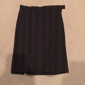 Club Monaco pin stripe pencil skirt